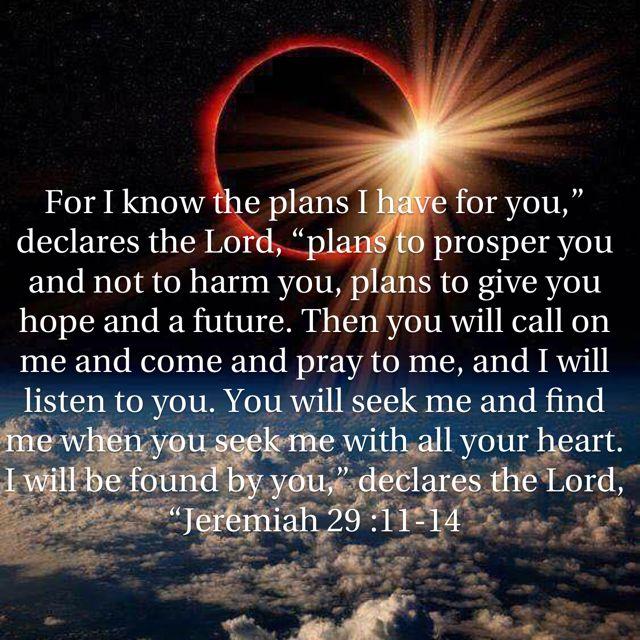 Jeremiah 29:11-14