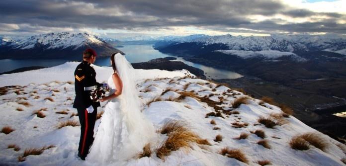 Mountain Wedding in Queenstown