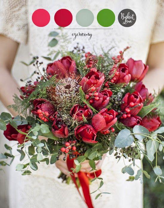 czerwone kwiaty na ślub - Szukaj w Google