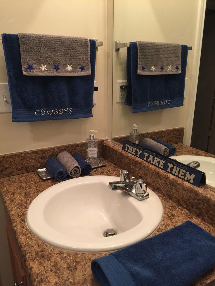 Dallas cowboy bathroom re-design
