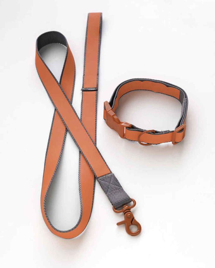 DIY reflective dog leash