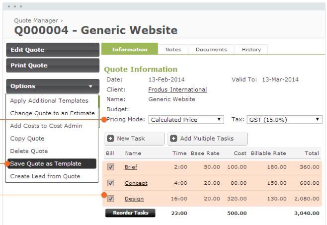 Workflowmax screenshot # 11