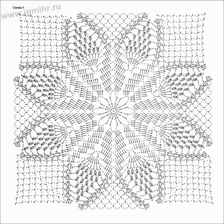 117 best motywy images on Pinterest | Crochet patterns, Crochet ...