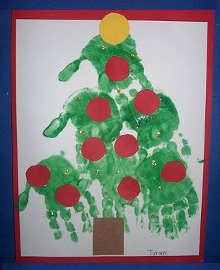 another Handprint Tree