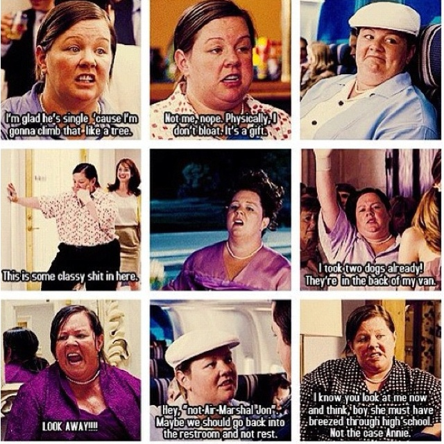BRIDESMAIDS -love melissa mccarthy!