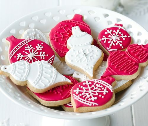 438 best Cookies - Fancy CHRISTmas images on Pinterest | Decorated ...
