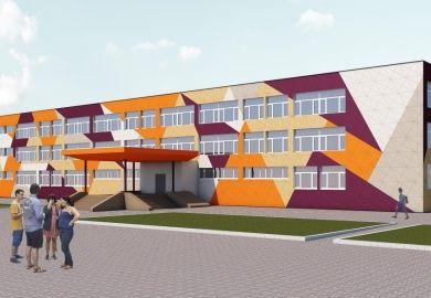 Картинки по запросу современная школа фасад