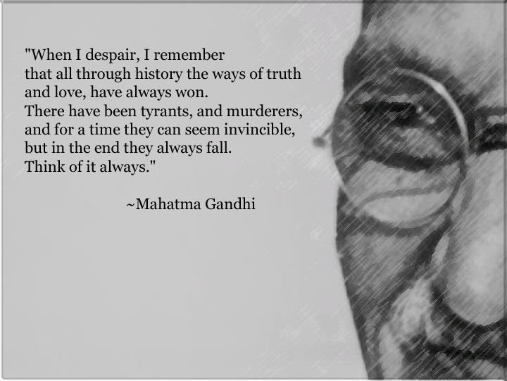 the life and death of mahatma gandhi As mahatma gandhi died, with 'hey ram' on his lips, he breathed new life into the recently freed nation over the past 70 years, the dying moment of gandhi has been narrated, debated and reflected upon in numerous ways.