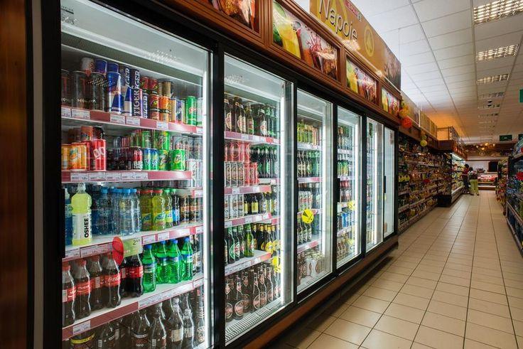 Холодильный шкаф двухдверный Cold производства Польша