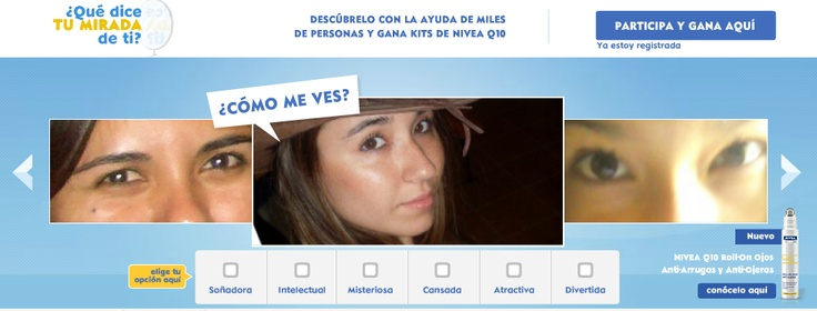 Descubre que dice tu mirada - Nivea Q10 Roll On