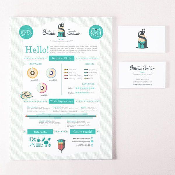 7 best Resume Design images on Pinterest Cv design Infographic