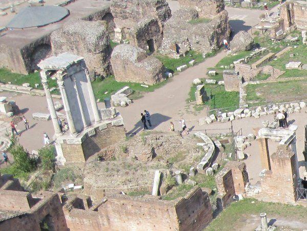 Roman Forum - Temple of Vesta - Rome, Italy