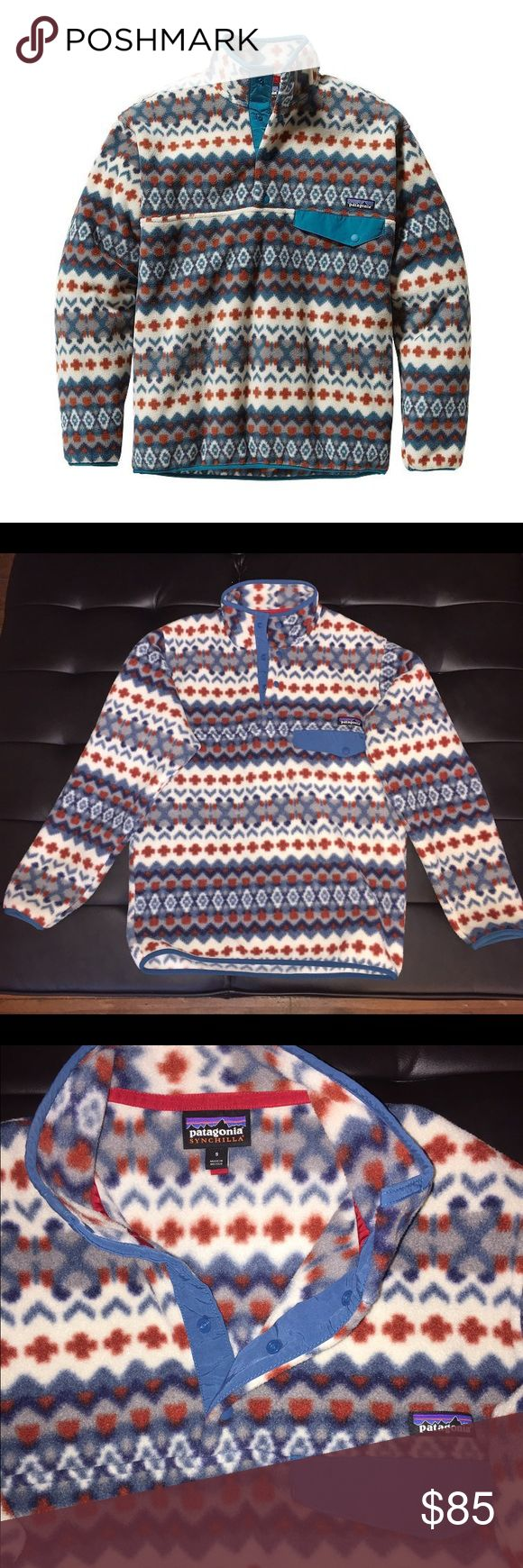 Patagonia Synchilla Snap-T Fleece Pullover Brand new Patagonia only worn twice! Patagonia Jackets & Coats
