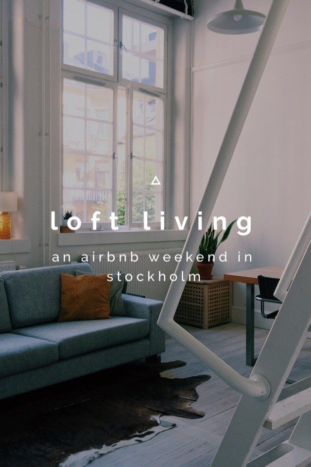 Loft living in Stockholm // Check out my story on @stellerstories