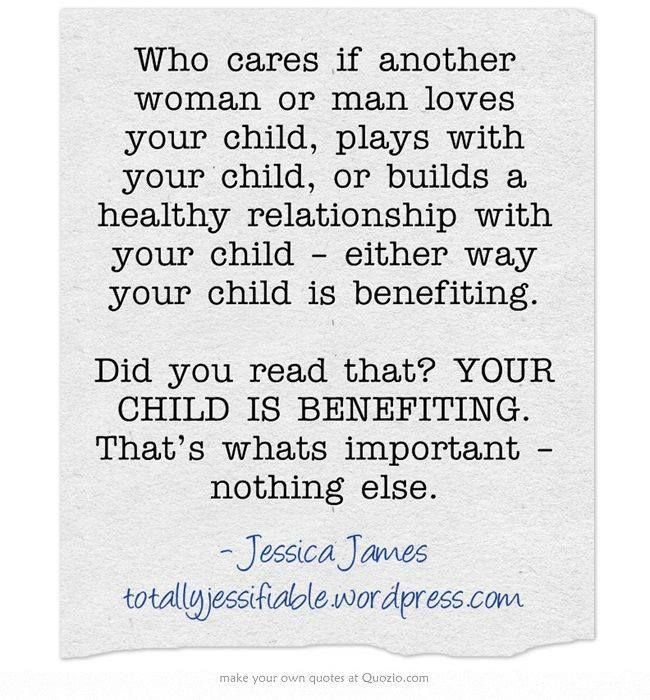 About the child...always