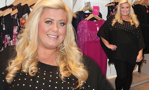 Gemma Collins hides two stone weight loss under loose-fitting clothes