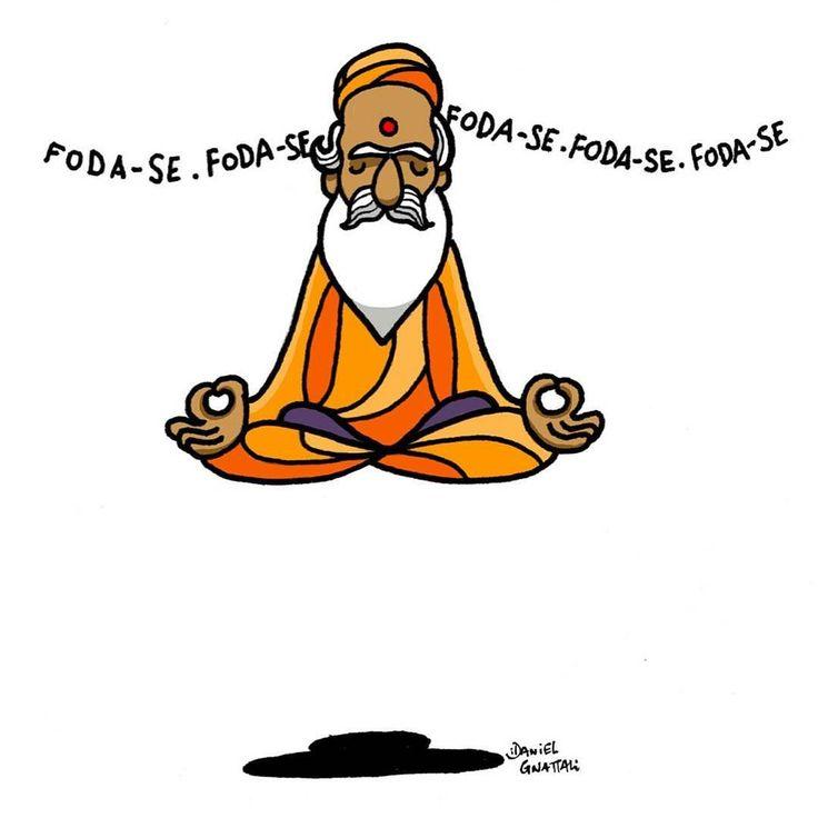 """""""Mantra"""" by @daniegnattali  Disponível aqui http://ift.tt/2d0Bv6A em camiseta almofada caneca e mais #artetododia"""