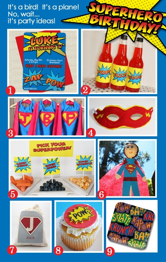 Boy Birthday Party Ideas | Superhero Party party-party