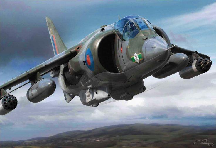 Hawker Siddeley Harrier GR Mk 1 (Adam Tooby)