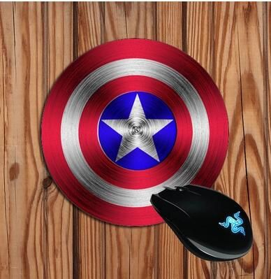 Captain America mouse pad S 220*180*2(MM) Desktop computer mouse pad Gaming Mouse pad FF-MP3 //Price: $7.95 & FREE Shipping //  #play #playing #screen #iphone #iphoneonly #apple #ios  #phone #smartphone #mobile
