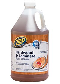 How do you keep hardwood floors looking their best without sticky residue?  Zep Commercial Hardwood & Laminate Floor Cleaner removes spots, stains and scuffs and restores the shine to finished floors and wood surfaces – leaving only a fresh scent.