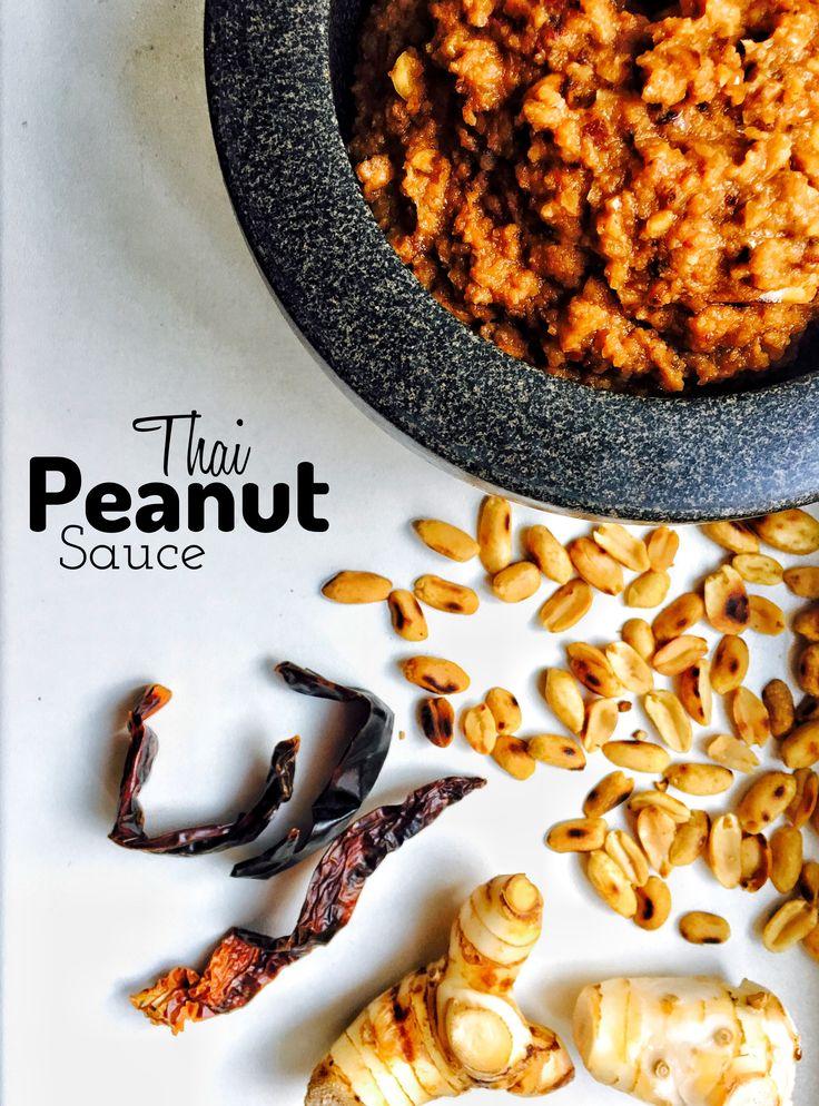 Thai Peanut Chilli Sauce    #nikosuvrohlik