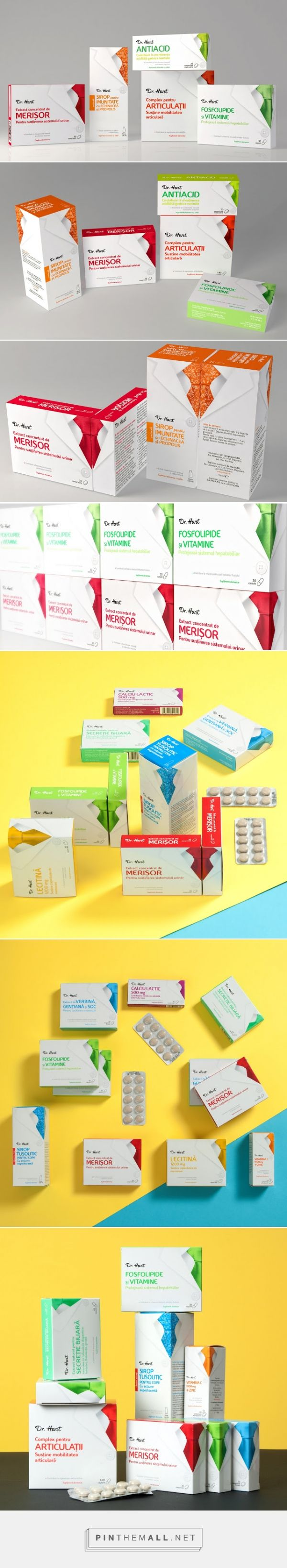 Dr Hart ‪#‎packaging‬ designed by Ampro Design Consultants - http://www.packagingoftheworld.com/2015/03/dr-hart.html