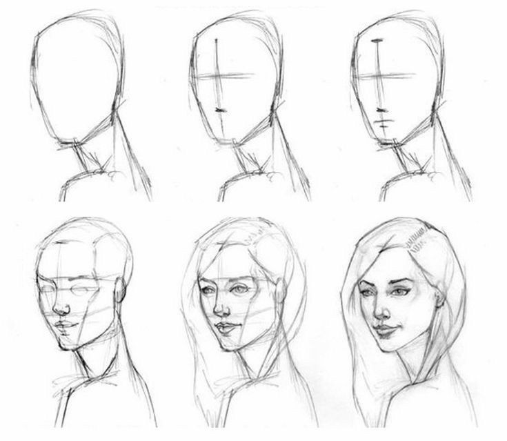Tutorial De Como Aprender A Dibujar Rostros Realista Humanos How To Draw Pasos Para Dibujar Rostros Dibujar Rostros Aprender A Dibujar Rostros