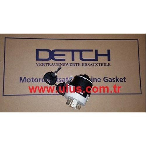 701-45500 Starter Key, Switch Starting Comple JCB