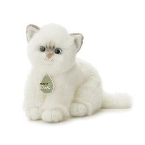 "Aurora Plush 12"" Snowflake, Aurora Babies White Kitten $9.80"