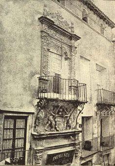 38 Casa Celdrán en C/ Trapería, conservada una copia en el Poble Espanyol de Barcelona