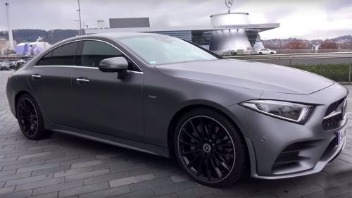 First video look at the all-new 2018 Mercedes CLS