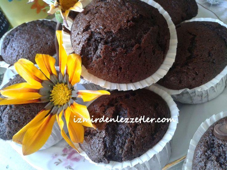 Çikolatalı Muffin, İzmirdenlezzetler Oya Genç