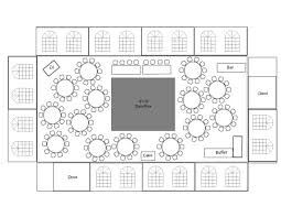 Wedding Reception table layout For 100 guests, 8 per table = 12.5 tables = 13 TOTAL plus head table