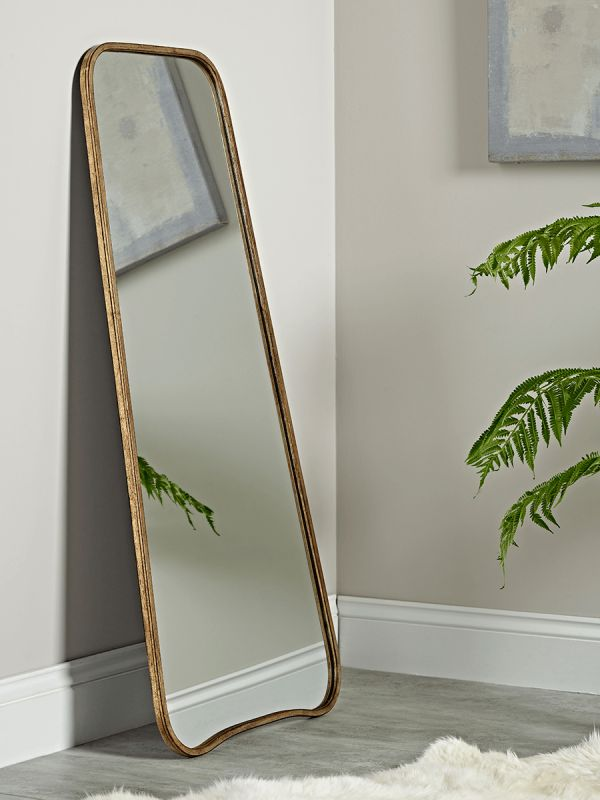 Bowen Full Length Mirror - Brass