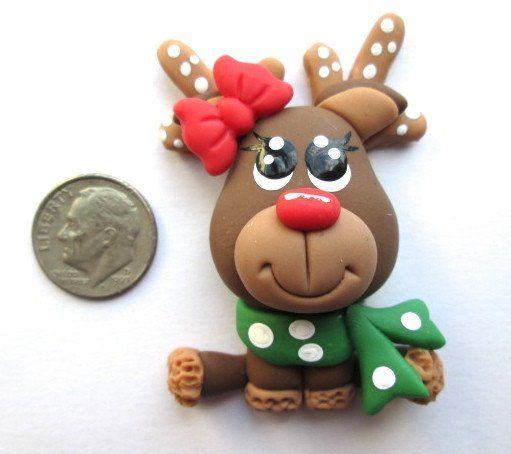 Handmade clay needle minder by a Canadian clay artist - very cute! Very limited # available.