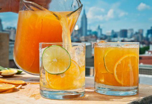IL COLORE DEI PENSIERI: Cocktail al succo d'arancia