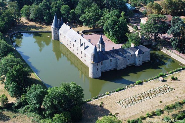 Photo aérienne de Parthenay - Deux-Sèvres (79)