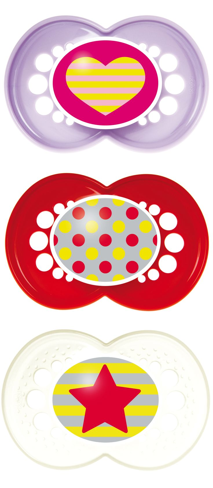 MAM Trends collection, 6+ months #mambaby #pacifiers
