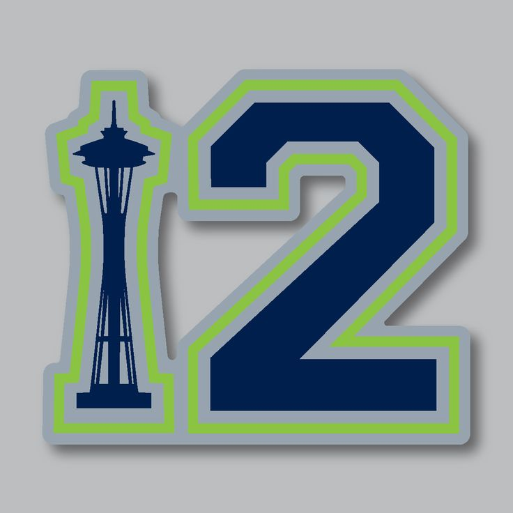 Seattle 12 medium sticker