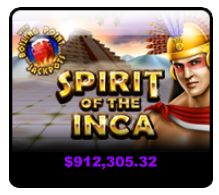 "At #SlotoCash (US players accepted) the ""Spirit of the Inca"" #jackpot is over $912,000  Join, spin and win now! ♥ http://tinyurl.com/pynfon2 ♥ #inca"