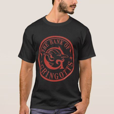 The Bank Of GRINGOTTS™ Logo T-Shirt - click to get yours right now!