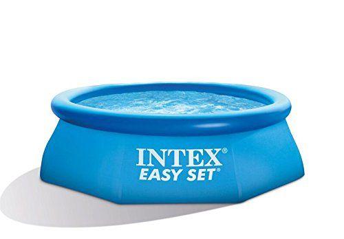 Intex – 56970Fr – Piscine – Piscinette Easy Set 2,44 X 0,76 M – Autostable