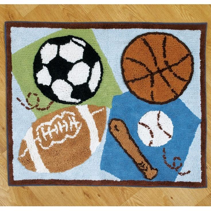 Sports Fan Rug