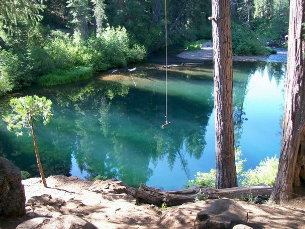 Cattle Camp Swimming Hole On The Mccloud River Mccloud