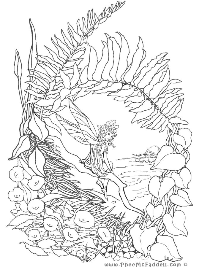 phee mcfaddell coloring pages - photo#2