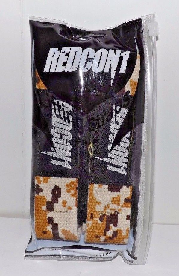 Redcon1 Weight Lifting Straps - Military Color for Power Lifting, Bodybuilding #Redcon1