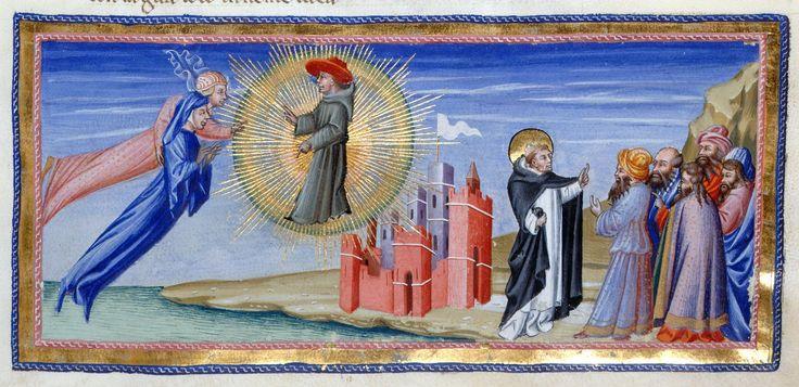 Dante and Beatrice -Dante Alighieri Title Divina Commedia Origin Italy, N. (Tuscany, Siena?) Date between 1444 and c. 1450 Language Italian http://www.bl.uk/catalogues/illuminatedmanuscripts/record.asp?MSID=6468&CollID=58&NStart=36