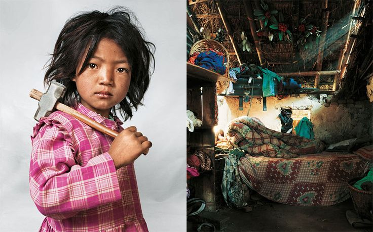 Where Children Sleep is a powerful photo series by English photographer James Mollison. He traveled around the world capturing the differences between the lifestyle of kids from different countries. The discrepancy is quite shocking, as in the series you will find photos of children like Kaya from Tokyo, whose mother spends more than $1.000 a month …