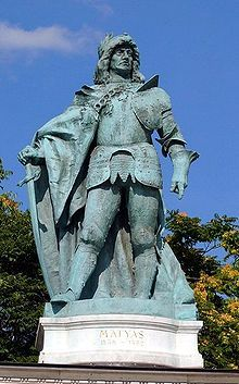 Matthias Corvinus – tschechisch Matyáš Korvín